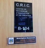 Bibliothèque du C@Hm : Centre de recherche, d'innovation et de création (photo : A. Miller)
