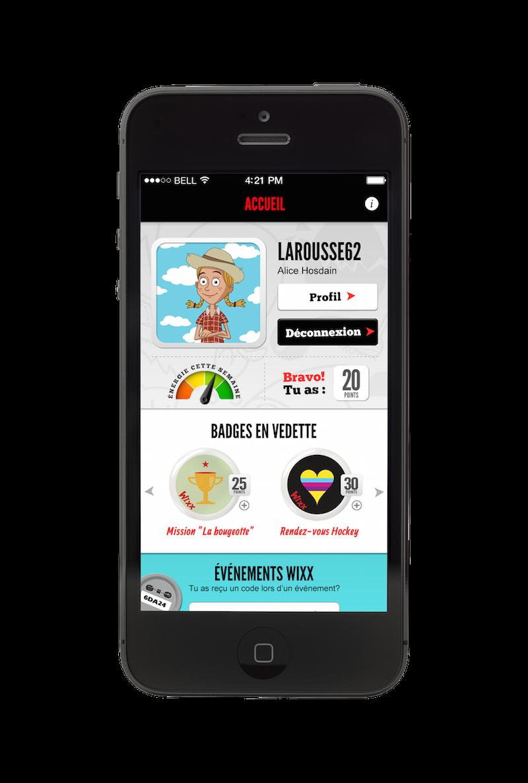 Une application mobile pour faire bouger les 9 13 ans for Passif synonyme