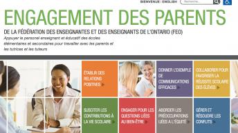 La FEO annonce un nouveau site Web pour promouvoir les relations parents-personnel enseignant
