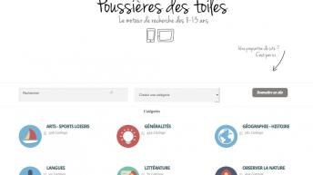 Poussières des toiles : un nouveau moteur de recherche adapté aux 8-13 ans
