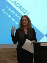 Nancy Brousseau, directrice générale, FÉEP